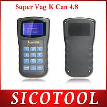 Best quality V4.8 Super VAG K+CAN V4.8 OBD2 auto scanner Diagnostic can bus scan Tool ----DHL FREE