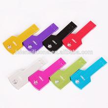 Colorful key shaped usb flash drive1gb,2gb,4gb,8gb,16gb,32gb, hotsale OEM metal key usb flash drive, 2tb usb flash memory stick