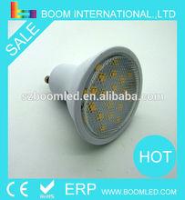 2014 Newest design LED GU10 led light 20SMD 380LM CE RoHS New ERP /gu10 downlight/gu10 6w led samsung ac cob