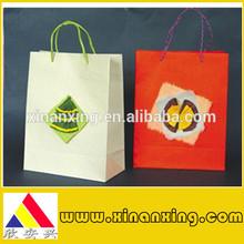 Hot sale cheap custom printed cloth & shopping paper bags