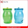 PET 2.5G clear plastic milk jug no leaking with spigot (KL-8017)