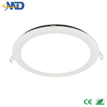 9w 2835 SMD led panel light round 90-277V 3 years warranty recessed panel light decorative ceiling fans with lights