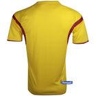 Hot sale 2014/15 football team soccer uniform ,grade original spain soccer sets ,original designer t shirts sports wear