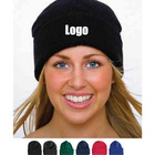 Warm Acrylic Winter Ski Long Knitted Watchcap Beanie Hat