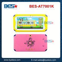 Shenzhen factory google long battery life 7 inch 800x480 kids tablet pc sticker