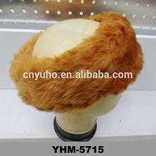 Cheap Ladies Fur Feel Fashion HeadBand Winter Earmuff Ski Hat Head Band Orange