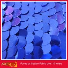 blue snowflake organza fabric for frozen elsa/frozen elsa snowflake fabric home decoration brands