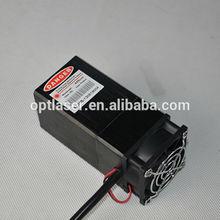 TEC cooling 445nm 2000mw 2w blue laser module