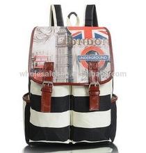 de mode style union jack length325mm toile sac à dos sac d'école sac ...