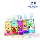Cute silicone holder hand sanitizer gel/wholesale bulk antibacterial waterless fragrance brands sanitize hand sanitizer gel