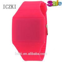 E1001 two tone silicone watch