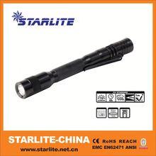 Pocket hot led pen light projector ballpoint pen
