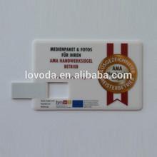 Custom business card usb flash disk usb flash drive 2GB 4GB 8GB/2tb usb flash drive/usb stick no case LFNC-004