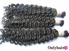 HARMONY bulk human hair/afro kinky bulk human hair/kinky curly human hair bulk