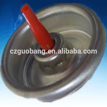 Plastic butane gas valve