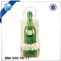 Custom Tote Freezer Wine Bag for Wine gel bottle cool