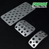 Car accessory Aluminum car pedals auto foot rest pedal pad for VW GOLF4