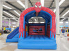 Indoor Small Size Spiderman Inflatable Castle with Slide for Sale
