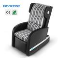 お尻マッサージ振動クッション椅子用革の温水マッサージチェア
