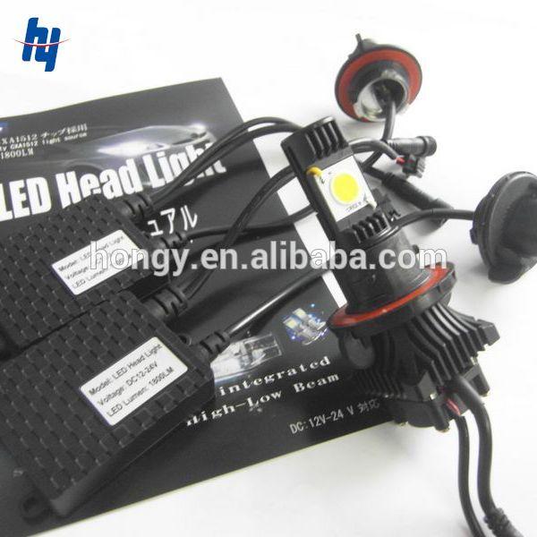 2014 newest 3600lm H4 H13 car led lighting, 9004 9007 led lights for cars, H7 9005 9006 H8 H11 H16 880 5202 led car light