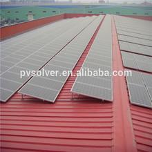 solar pv modules metal roof solar mount tin roof solar metal roof panel mount brackets
