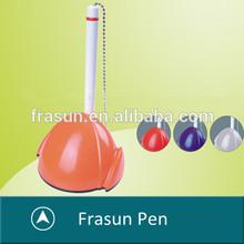 Hot Sale Attached Chain Custom Logo Cheap Plastic Counter Pens