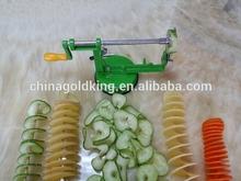 New product tornado potato slicer fresh potato chips making machine