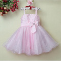 nuovo design caldo vendita baby girl vestito fata