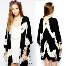 Womens Kimono Floral Print Kimono 2014 thin summer cardigan Top wholesale