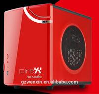 Square micro ATX desktop computer case/pc case