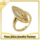 Fashion evil eye copper rings jewellery