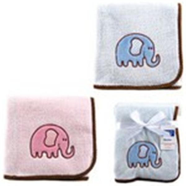Baby Sleeping Blanket Luvable Friends Elephant Applique Baby Blanket Babys Winter Coral Fleece B ...