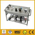 portable neumático válvula de seguridad de banco de pruebas para la operación de la tubería