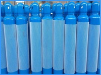 10L medical oxygen cylinder with valve and cap