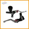 Black stable motorcycle brake handle clutch lever