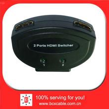 2 Port HDMI V 1.3 Manual SELECTOR Sharing Switch 2-WAY Switcher BOX 2:1 LU