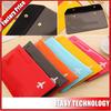 bueatiful colors pvc cover for passport travel passport holder bag