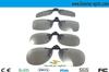 light circualr polarized 3d glasses ,grey lens,no frame