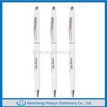 metal pen clip holder Ball Pen for Hotel