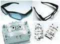 de plástico de seguridad gafas de marco del molde