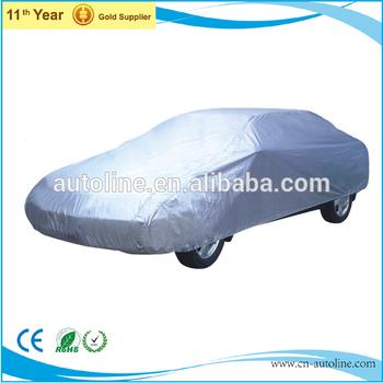 Lockable bottom folding car covers