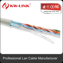 100-pair cat6 utp cable/Copper conductor 4 Pairs LAN cable FTP CAT6