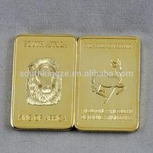 King of South Africa Lion Krugerrand gold bullion bar