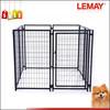 Outdoor 5x5x4ft heavy-duty wire folding dog fence in garden