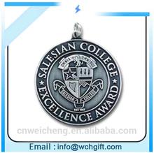 custom round medal coin