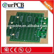 China manufacturer Green Solder Mask fr4 single sided pcb