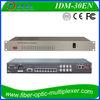 30 FXS/FXO CH Voice over fiber /E1 PCM Multiplexer
