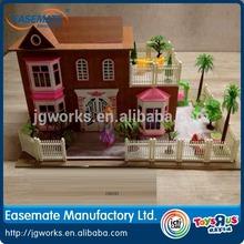 Wooden toys DIY toys furniture house blocks wooden house for children