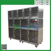 YSVET0510 veterinary stainless steel dog kennel