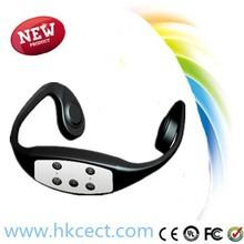 Supports MP3 and WMA ,bone conduction earphone,Bone conduction Headphones